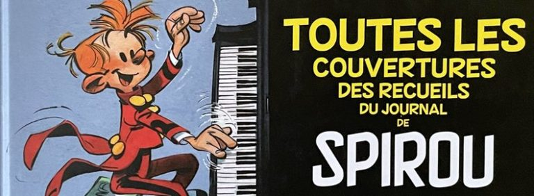 All the Collected Spirou Journal Covers by Andre Franquin