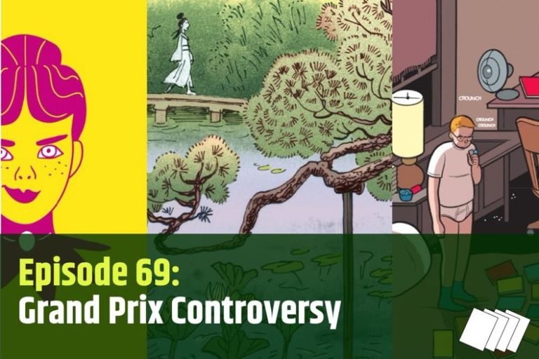 Show notes for episode 69 of the Pipeline Podcast, featuring artwork from the three Grand Prix nominees
