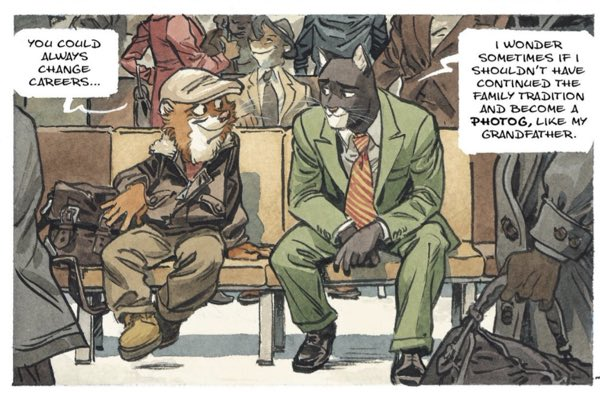 Blacksad tells Weekly about his family's photography history