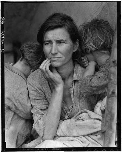 Migrant Mother photograph by Dorothea Lange