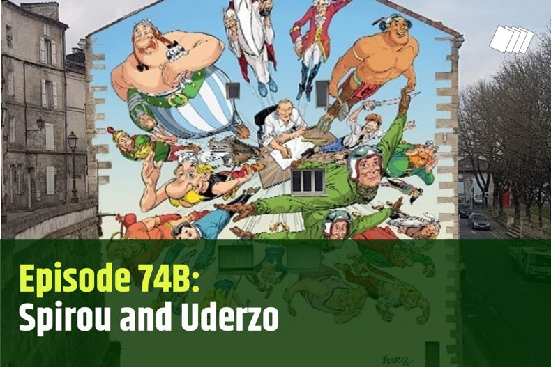 A new Albert Uderzo mural will be on display in Angouleme