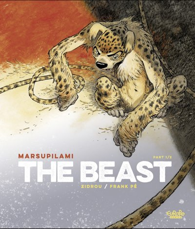 The Beast v1 cover by Frank Pe (written by Zidrou)