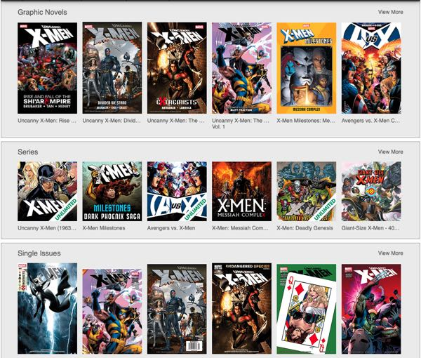 All Ed Brubaker X-Men search results on Comixology