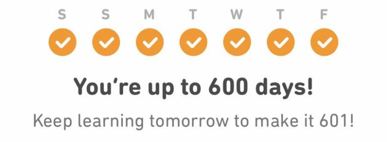 600 Days of DuoLingo: Lessons Learned in Learning French