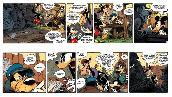 Preview of Mickey Mouse: Zombie Coffee by Regis Loisel