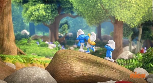 The Smurfs has crazy brokeh, such as this pic where the background fuzzes out so effectively.