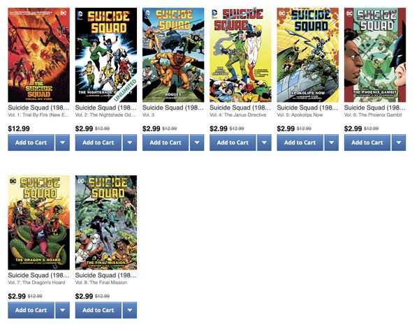 The only Suicide Squad collections you need to own come from John Ostrander's typewriter